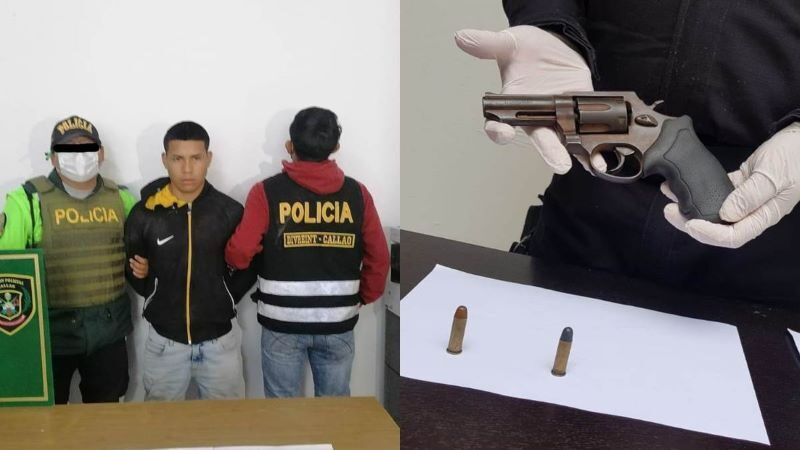 Callao: policía captura a delincuente que pretendía robarle su celular