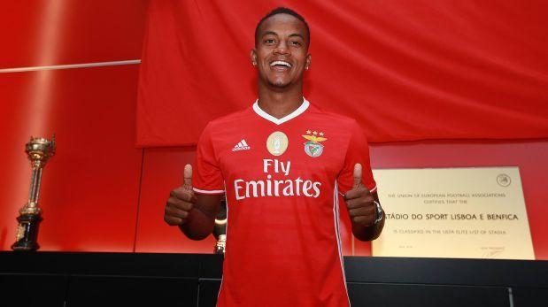Ya es oficial: André Carrillo es nuevo jugador del Benfica de Portugal.