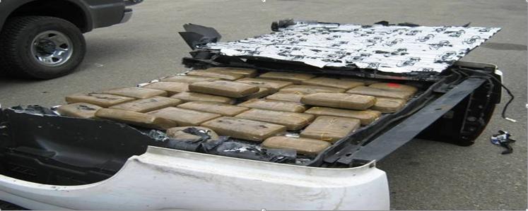 Decomisan droga en Arequipa