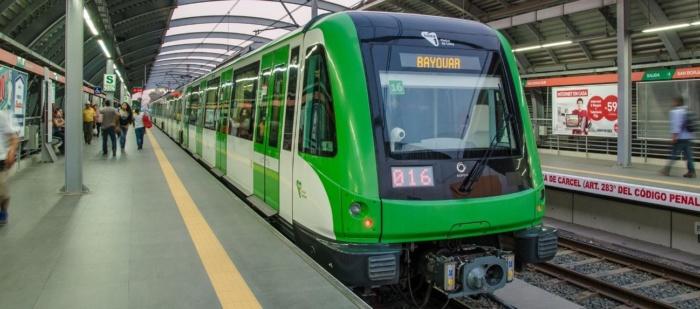 Aumentan medidas de seguridad en la estación Gamarra del Metro de Lima