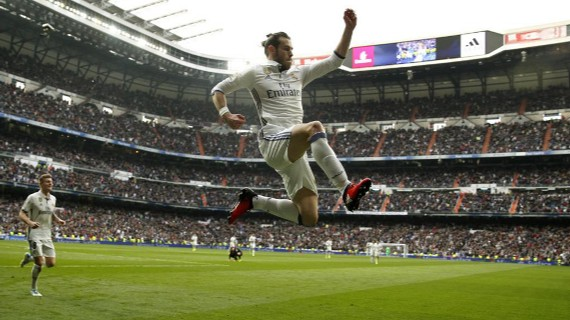 Bale anotó golazo y da victoria a Real Madrid