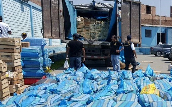 Incautan cargamento de  contrabando valorizado en medio millón de soles