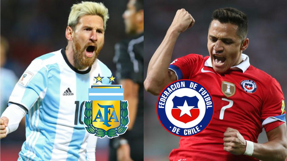 Se juegan el todo!!!  Argentina vs. Chile