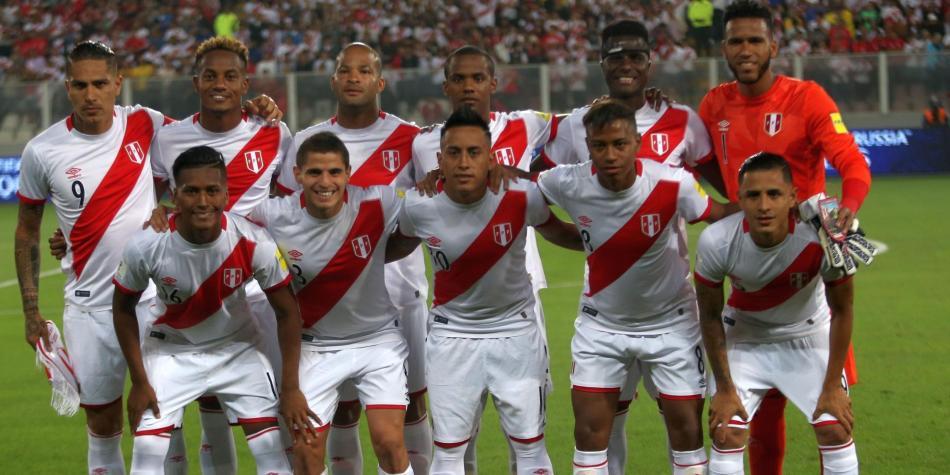 Este es el once de Perú