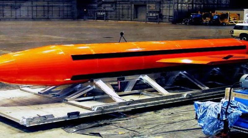 EEUU: Lanza bomba no nuclear en Afganistán