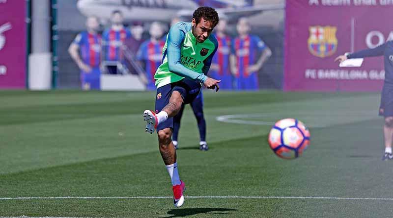 Neymar entra a lista de convocados para clásico español