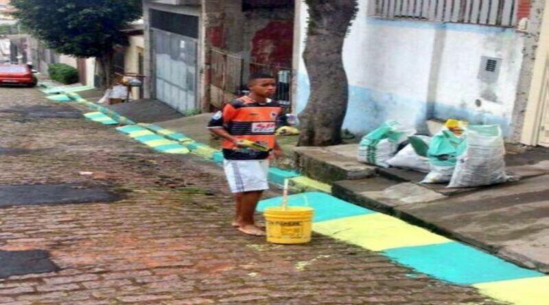Manchester City: Antes de ser estrella del fútbol pintaba calles en Brasil