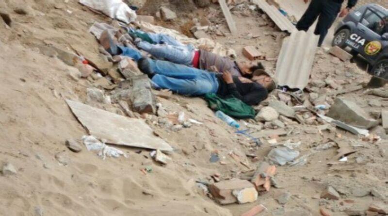 Encuentran dos  cadáveres  en descampado de Ventanilla