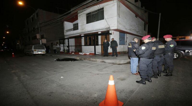 Callao: Menor muere baleado tras robar a taxista en Dulanto