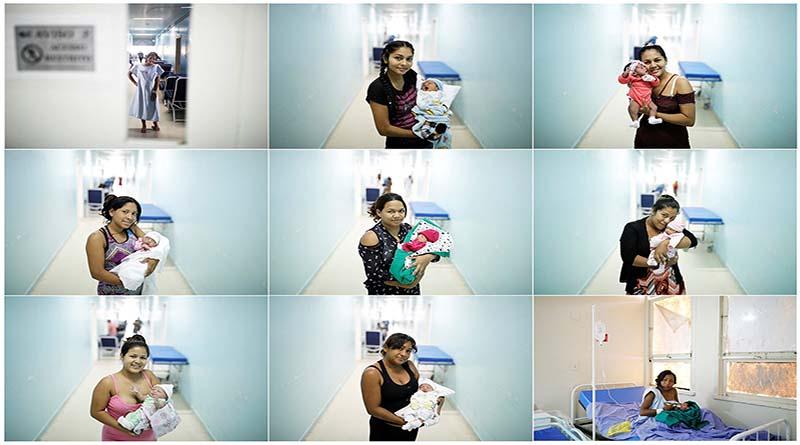 Tres bebés venezolanos nacen al día en Brasil