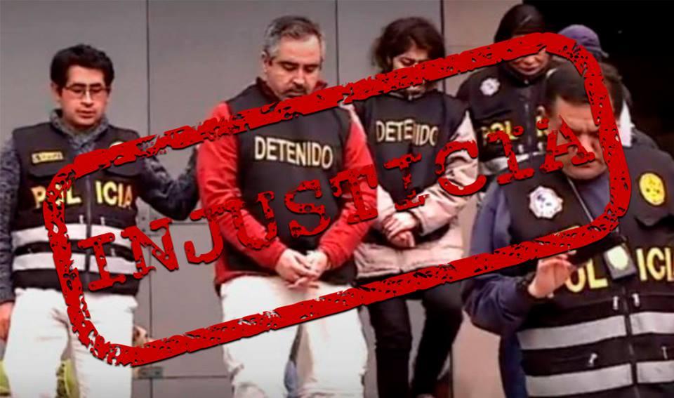 Congresistas firman a favor de pareja chilena acusada de trata