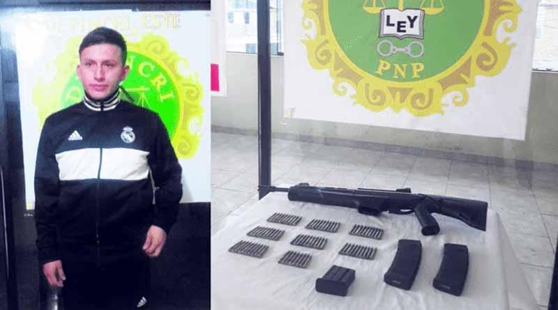«Gringasho» cae con armamento de guerra en Trujillo