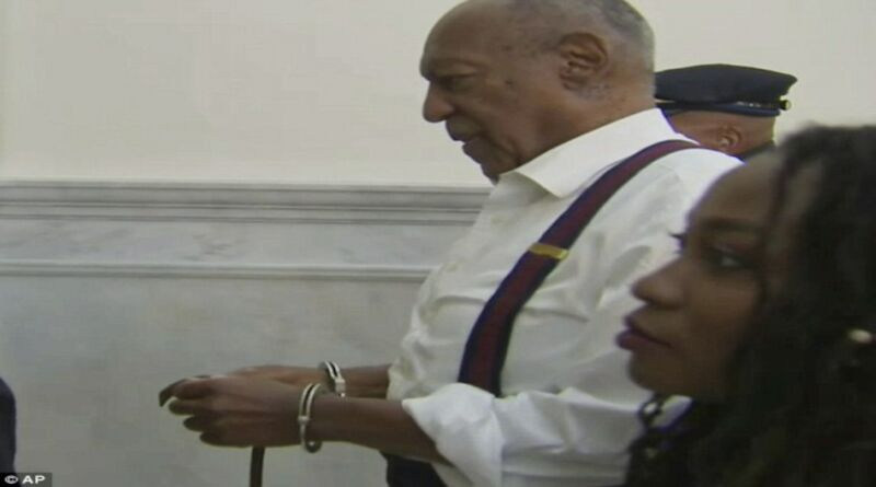 Bill Cosby sentenciado a prisión por drogar y violar a una mujer