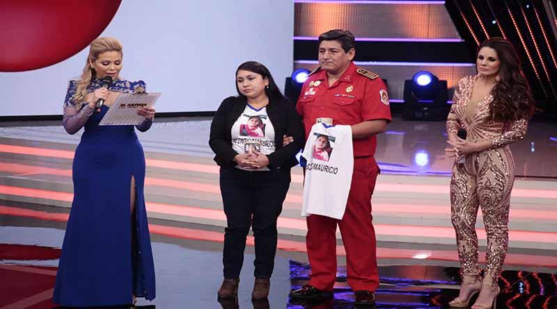 Gisela Valcárcel: Donó 50 mil soles para joven atropellado