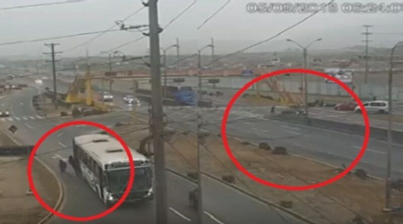 Ancón: Ladrón que se daba a la fuga muere atropellado