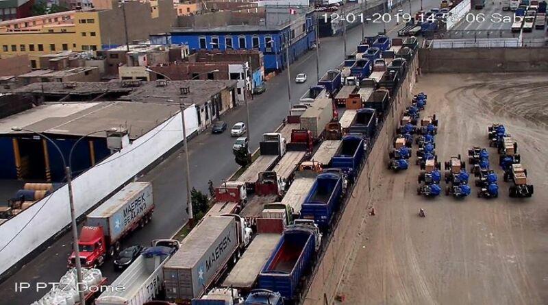 Callao: Transportistas portuarios anuncian  paro general