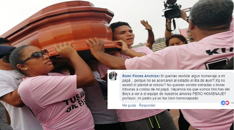 Acusan a Sport Boys de lucrar con homenaje a 'Kukín' Flores
