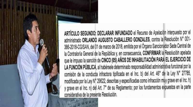 Alcalde de Mi Perú elige como asesor a funcionario inhabilitado por la Contraloría