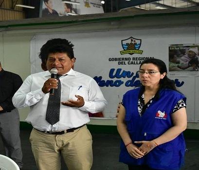 alcalde de Mi Perú elige a asesor