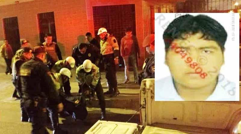 Policía mata  a sujeto que asaltaba a una familia en el Callao (FOTOS)