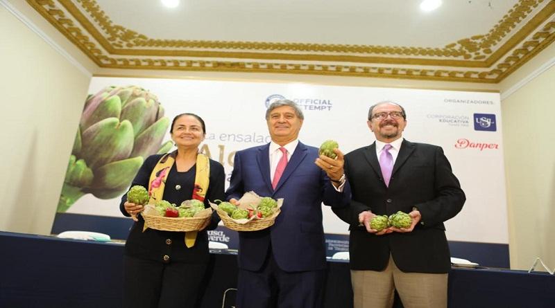 Buscan establecer nuevo récord guinness con la ensalada de alcachofa más grande del mundo