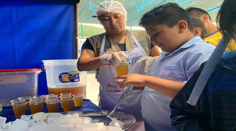 Más de cinco mil niños de Ventanilla se benefician en  ferias nutricionales