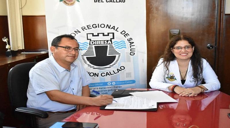 Callao: Diresa  firma convenio con Carmen de la Legua  para trabajar por la salud mental