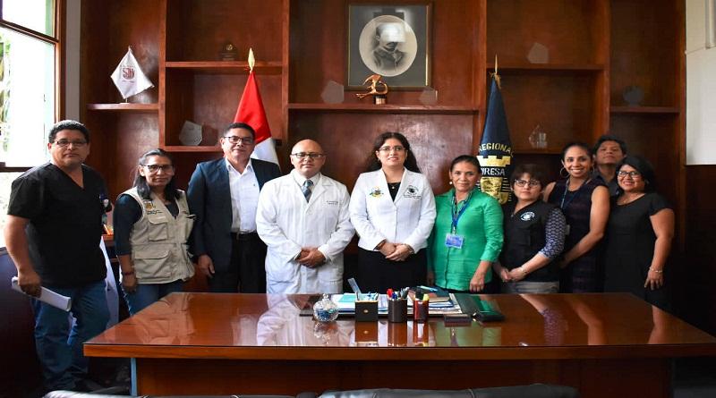 Diresa Callao y Minsa unen esfuerzos para mejorar servicios oncológicos de  hospital Carrión