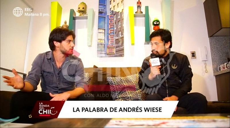 Critican a Aldo Miyashiro por «entrevista echada» a Ricolás [VIDEO]