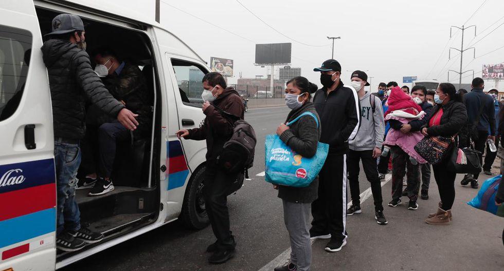 Suspenden paro de transportistas de Lima y Callao