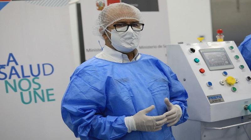 Covid-19: ministro de salud pide a clínicas ser solidarias con pacientes