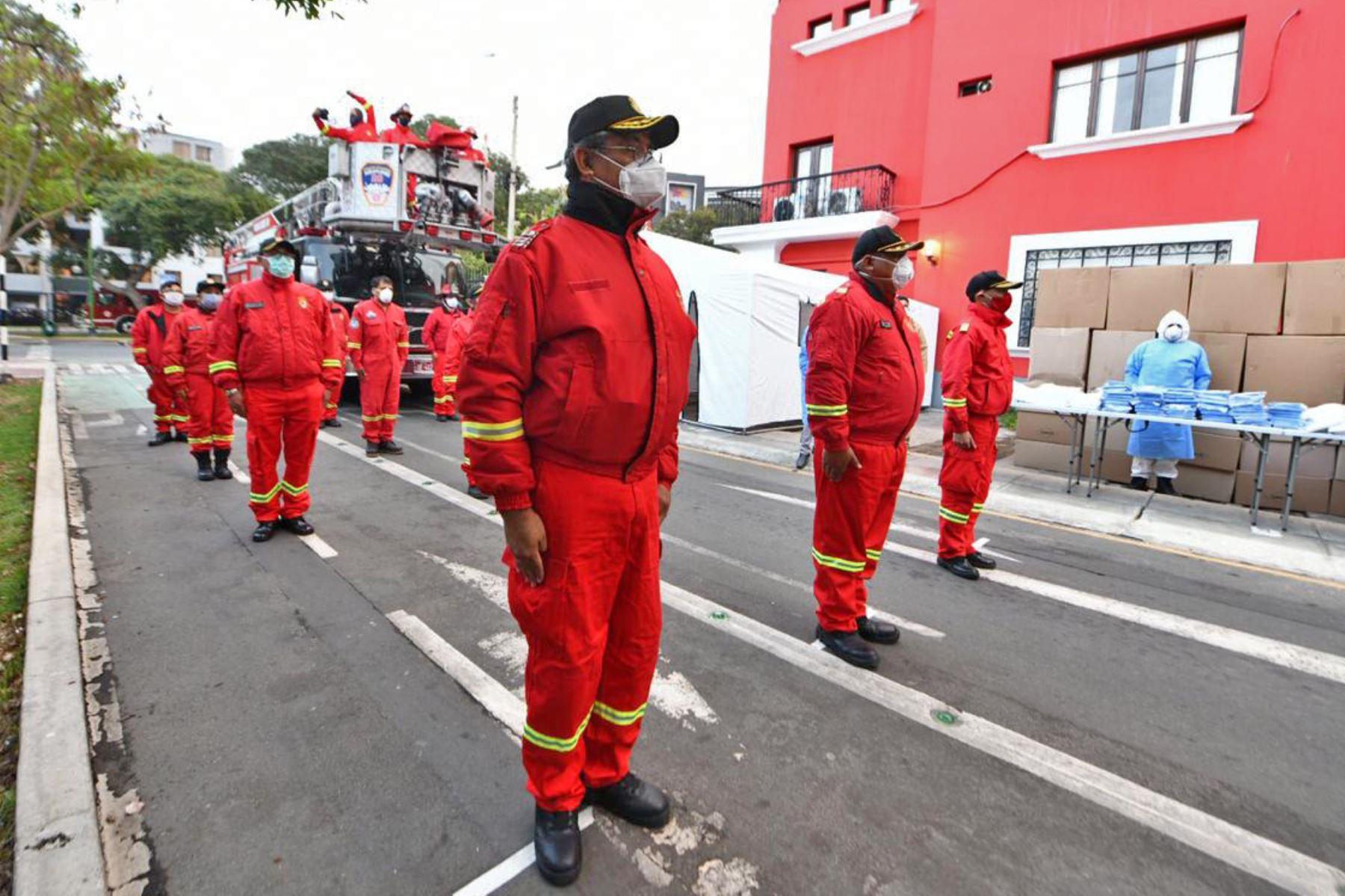 ¡Héroes! Bomberos atendieron más de 15 mil emergencias durante cuarentena