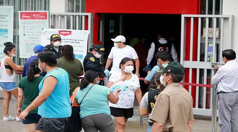 Bono independiente: 5 mil hogares beneficiados del Callao aún no cobran