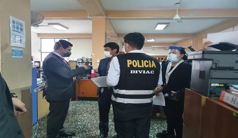Policía y Fiscalía intervienen Municipalidad de Chorrillos