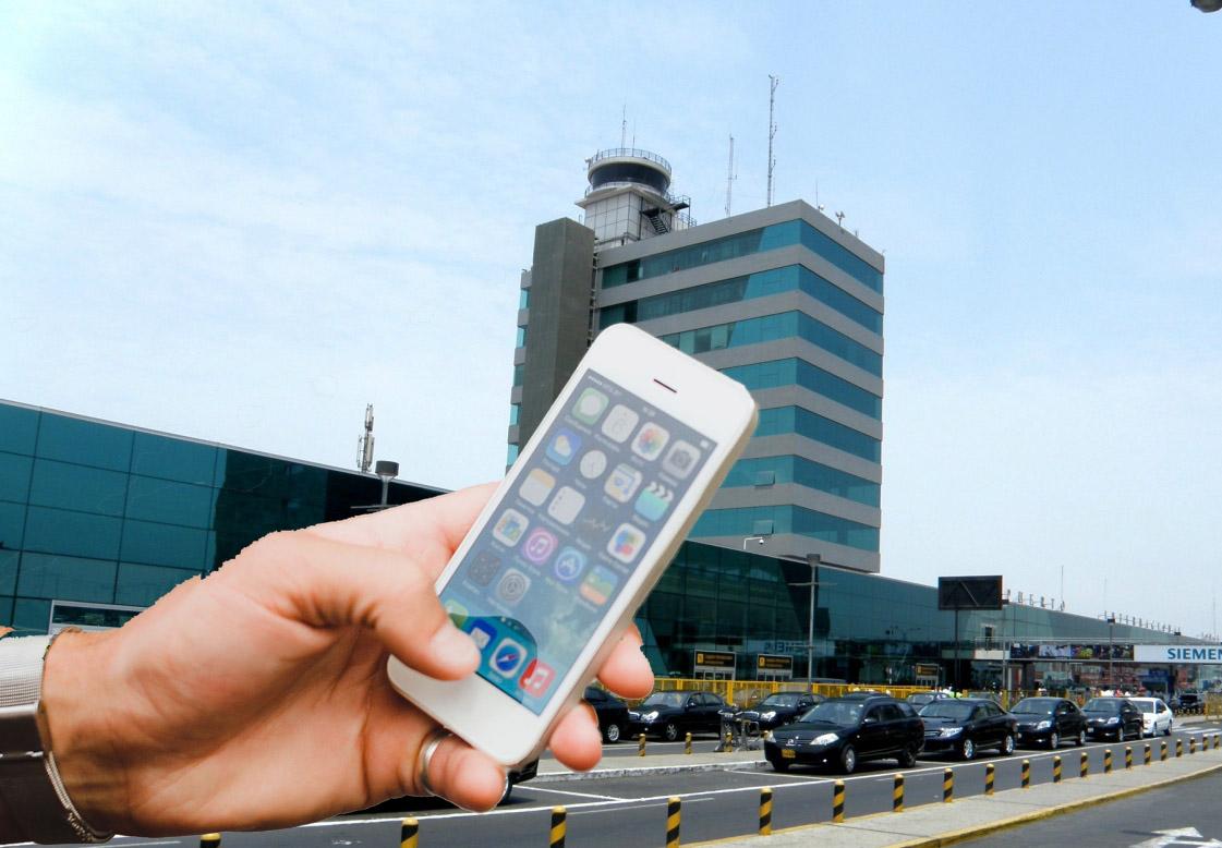 Aeropuerto Jorge Chávez: Parqueo vehicular será pagado a través del celular
