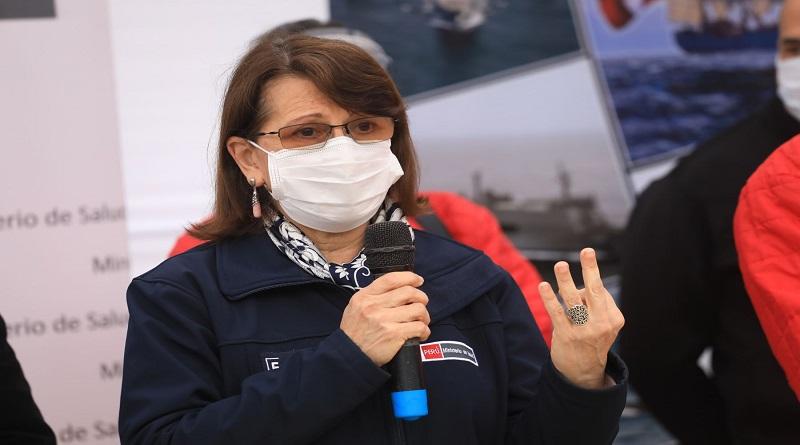 Ministra Pilar Mazzetti señala que no es momento para realizar paralizaciones