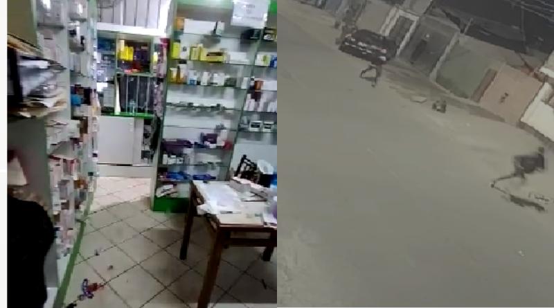 San Juan de Miraflores: delincuentes asaltan farmacia y acuchillan a hermanas