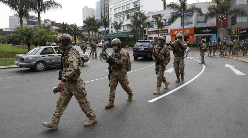 Mas de 2 mil efectivos de las Fuerzas Armadas se contagiaron y 64 fallecieron por coronavirus