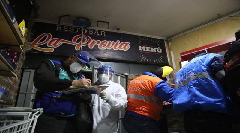Veinte personas celebraban cumpleaños en un bar del Centro de Lima