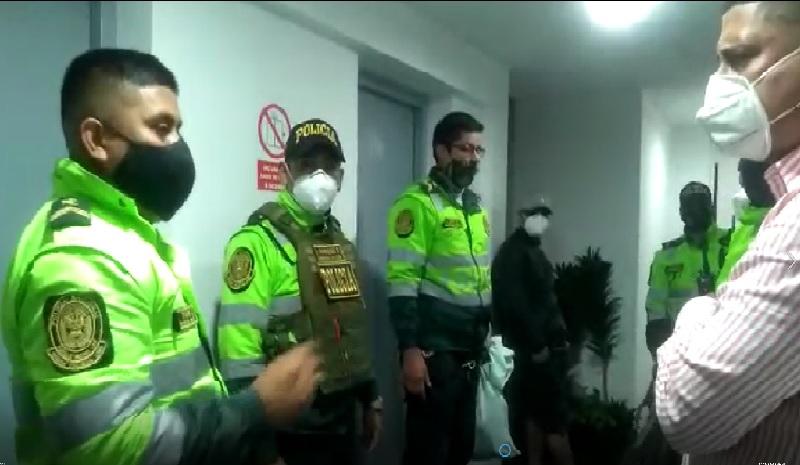 Policías y serenos intervienen a 15 personas en fiestas covid