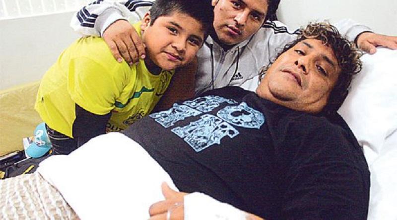Toño Centella y sus hijos luchan contra la Covid-19 en su casa