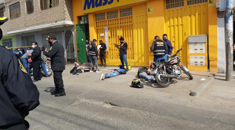 Policía frustra asalto a minimarket en San Martín de Porres