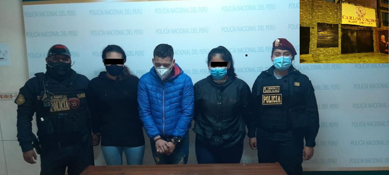 Callao: Tras persecución capturan a sujetos que iban a robar  spá de Carlos Cacho