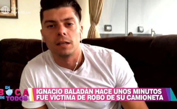 Delincuentes roban camioneta a Ignacio Baladán en Los Olivos