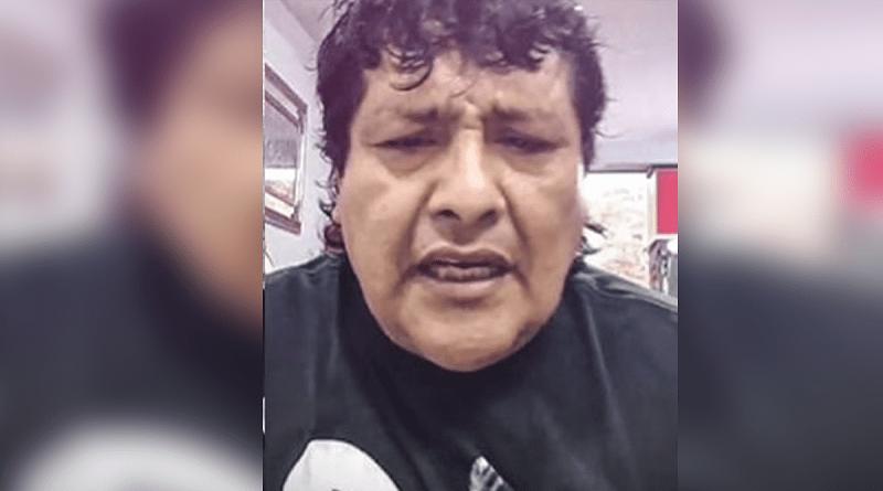 Toño Centella llora por muerte de su madre a causa del covid-19
