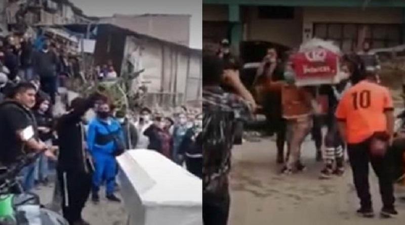 Despiden con fiesta a varias jóvenes fallecidas en discoteca de Los Olivos