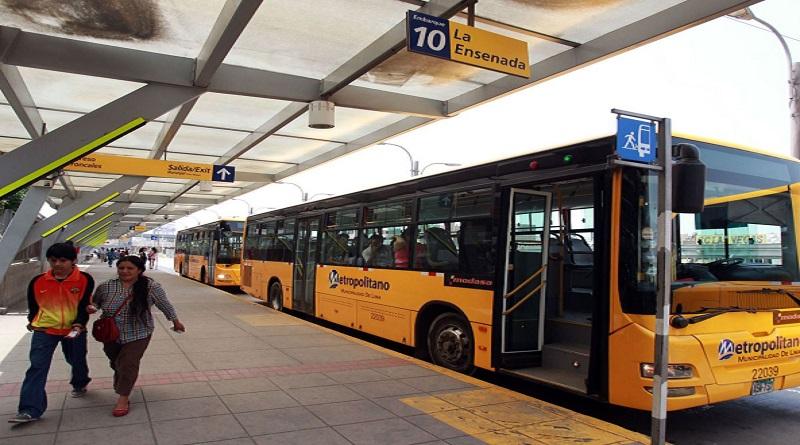 Rutas alimentadoras del Metropolitano dejaron de operar