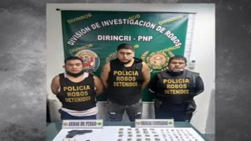 Policía captura a sicarios  los 'Gatitos de Ventanilla'