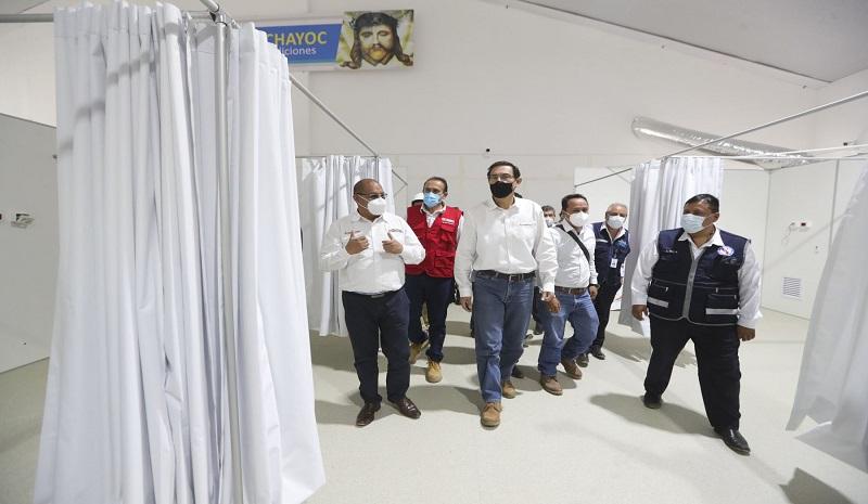 Vizcarra pide no bajar la guardia porque faltan varios meses para tener la vacuna