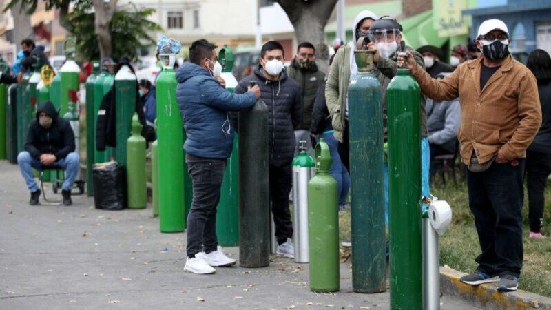 VIOLETA BERMÚDEZ ANUNCIÓ LA LLEGADA DE OXÍGENO DESDE CHILE EN LOS PRÓXIMOS DÍAS